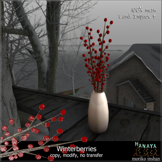 -Hanaya- Winterberries