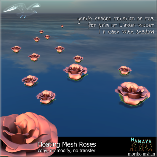 -Hanaya- Floating Roses