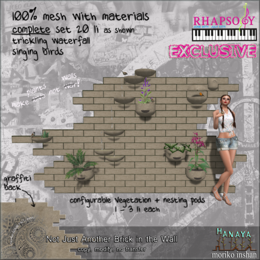 -Hanaya- Not Just Another Brick in the Wall [mesh] Image