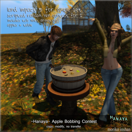 -Hanaya- Apple Bobbing Contest FOR SALE