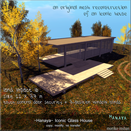 -Hanaya- Iconic Glass House