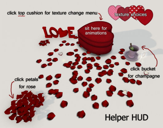 You and Me is Love Helper HUD