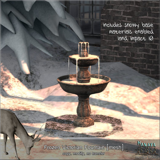 -Hanaya- Frozen Victorian Fountain