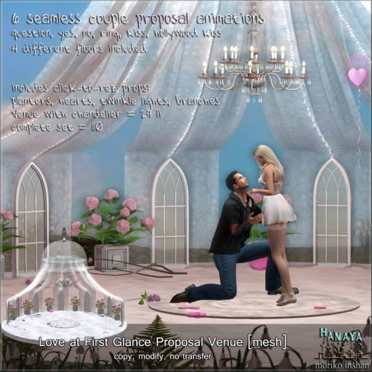 -Hanaya- Love at First Glance Proposal Venue [mesh]